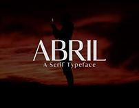 Abril - Free Serif Demo Font