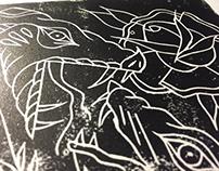 Linoleum board