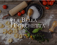 Italian restaurant webapp - La Bella Forchetta
