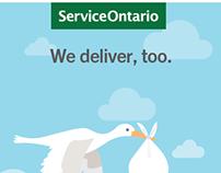 ServiceOntario Web Ads