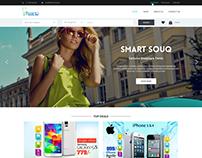 Smart Souq  Ecommerce Webpage