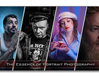 Portrait photography - complexity and essence.
