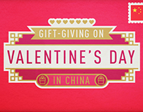 Gift giving on Valentine's Day in China