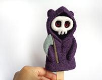 Popsicle Bear Grim Reaper - Halloween
