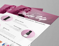 Flyer Comestic and Packaging