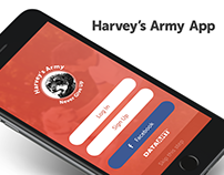 Harvey's Army App