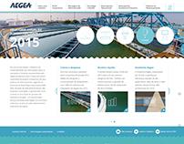 Relatório de Sustentabilidade Aegea 2015