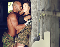 SWEET ARMY COUPLE