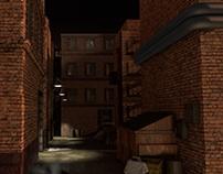 3D Scene: Alley