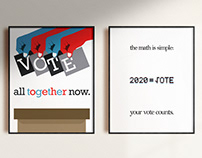 AIGA Get Out The Vote 2020