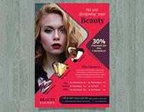 Beauty saloon flyer