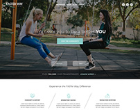 Faster Way to Fat Loss Website ReDesign