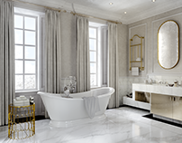 Proposal interior design bathroom London house