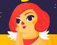 Horchata Magazine - Illustrations
