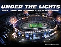 University of Tennessee Football Program Ad