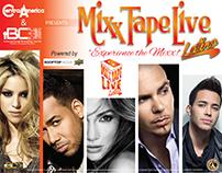 "Mixx Tape Live ""Latino"""