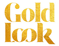 Gold Look - Logo mark