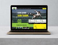 Soccer Team UI & UX Design ( Akhisar Belediyespor )