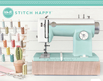Machine Box for Stitch Happy for We R Memory Keepers