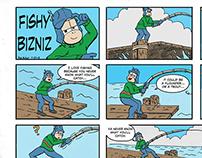 Fishy Bizniz Comic Strip