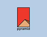 Golden Proportions Pyramid Logo