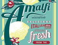 Coursework: Amalfi Lemons Packaging