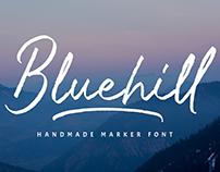 Bluehill- Marker Font FREE