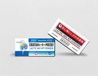 LACTIC MIX-WT POWDER|Packaging Design