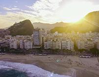 Dronie Copacabana Río de Janeiro
