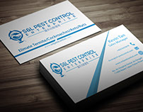 Business Card for Pest Control Company