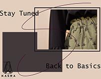 Social Media Designs for Handmade clothes startup