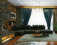 Hurghada Villa Modern Reception