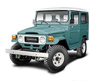 Toyota Landcruiser Heritage illustrations