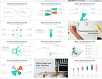 Infographic Report PowerPoint template