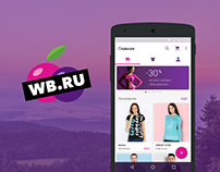 Wildberries App Redesign Concept
