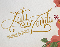 Corporate Identity/ Katy Zavala