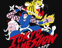 TOKYO GAME SHOW 2017 T-shirt