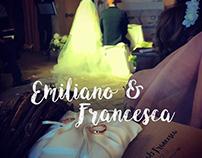 Wedding Graphic Design Emiliano&Francesca