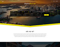 Flight and Hotel Booking Web Design 2
