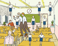 """The Classroom"" animation"