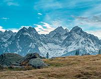 Tatra Mountains from Rusinowa Polana II