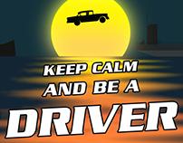 Ilustração Simples - Homenagem à Franquia 'Driver'