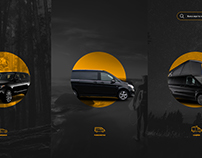 Web Design a Luxury car renting