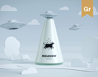 Molocow - milk package concept