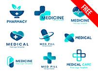 Free Medical Logo Set