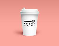 FUDGE CAKE BAR Branding