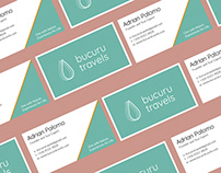 Business Card Design for Bucuru Travels