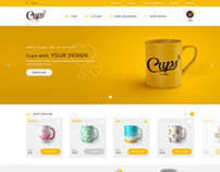 Cups website