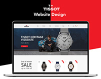 Tissot Website UI/UX