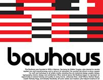 Bauhaus Project Poster